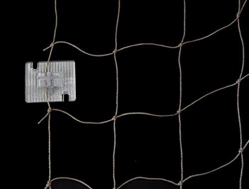 Bird-Tech - Fixierung für FastNet© Netze, 50 Stück + Tube Silikon 80 ml
