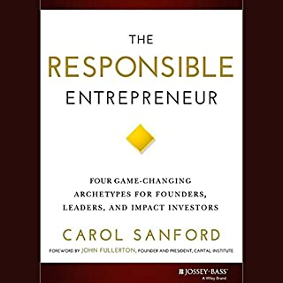 The Responsible Entrepreneur audiobook cover art