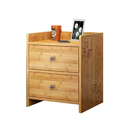 Dressoir Bamboe opbergkast eenvoudige nachtkastje slaapkamer opbergkast multifunctionele opbergkast nachtkastje kleine opbergkast