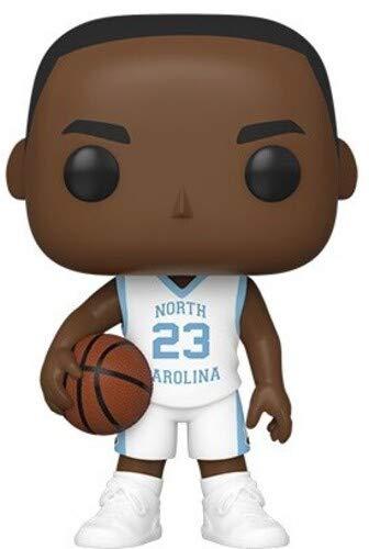 Funko 46788 Pop Baloncesto: UNC-Michael Jordan (Camiseta de la Manera) Juguete Coleccionable, Multicolor