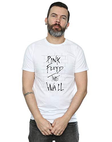 Pink Floyd Herren The Wall T-Shirt Large Wei?