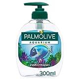 PALMOLIVE - Savon Liquide Mains Aquarium - Formule Douce au pH Neutre - Distributeur de Savon à Pompe de 300 ml