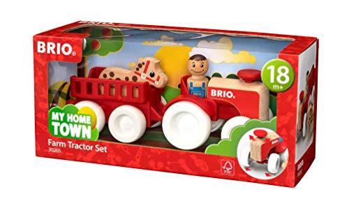Brio - 30265 - Environnement ferme et véhicule - tracteur et remorque
