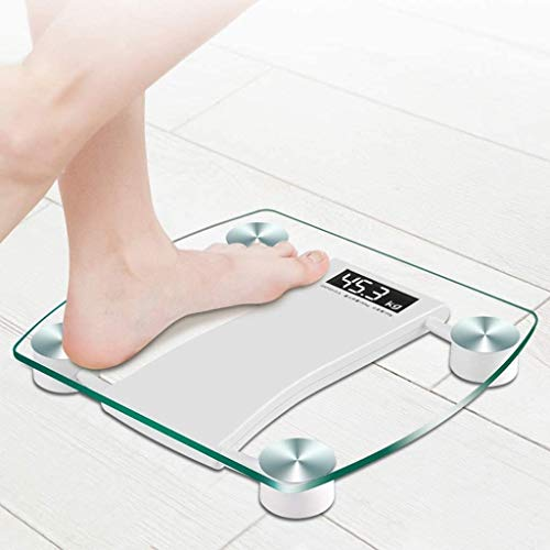 LKNJLL Weighing Scale, Weight Scale Electronic Meter Home Weight Loss Family Accurate Human Weighing Healthy Adult Electronic Scale 3