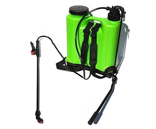 Generic 20L Litre Water Spray Pump Backpack Knapsack Pressure Sprayer Insects Killer Expert Colour : Green