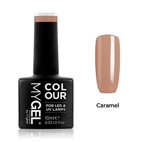 MYGEL by Mylee Nail Gel Polish 10ml [Caramel ] UV/LED Soak-Off Nail Art...