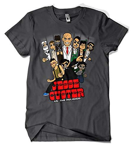 Camisetas La Colmena 7008-Jesse Custer vs The Religion (MarianoSan83)