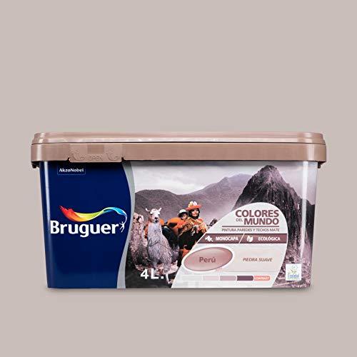 Bruguer 5161523 - Colores del mundo Perú PIEDRA suave 4 L