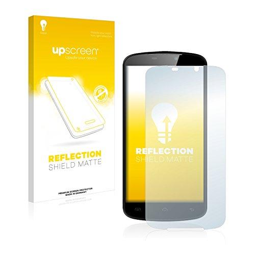 upscreen Entspiegelungs-Schutzfolie kompatibel mit Doogee X6 – Anti-Reflex Bildschirmschutz-Folie Matt