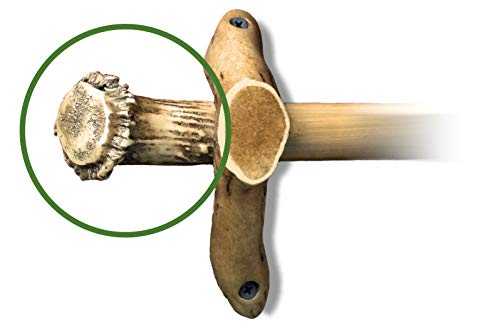 Mountain Mike's Reproductions Antler Curtain Rod End Bases