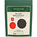 VAHDAM, Nilgiri Breakfast Tè nero (150+ tazze) | Foglie di tè nero 100% PURO Tè inglese ROBUST & FLAVORY | Tè allentato di tè nero | Birra come tè caldo, tè freddo, tè Kombucha o latte 340gr