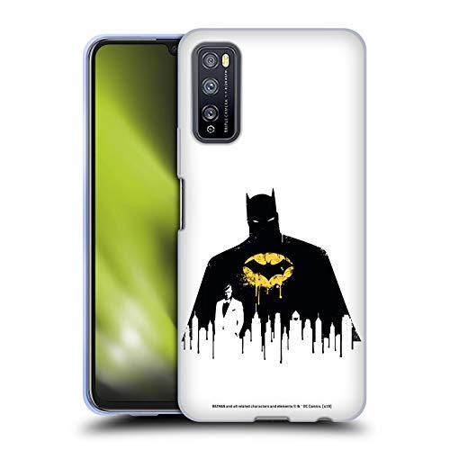 Head Case Designs Oficial Batman DC Comics Alter Ego Paisaje Urbano 2 Dualidad Carcasa de Gel de Silicona Compatible con Huawei Enjoy Z 5G
