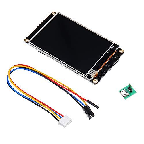 Nextion Enhanced NX4832K035 versión avanzada pantalla 3,5 pulgadas HMI Smart USART UART serie módulo panel táctil TFT LCD para kit Raspberry Pi y Arduino