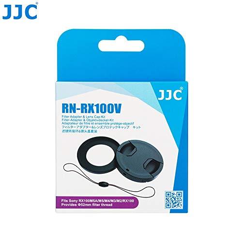 Filter Adapter JJC RN-RX100V for Sony DSC-RX100 Models I to V - 52mm - Lens Cap kit