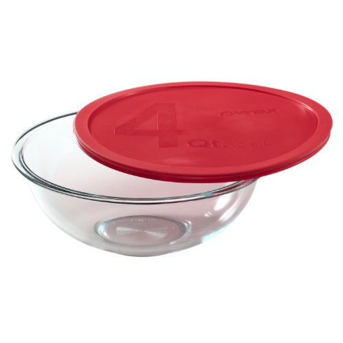 Pyrex Smart Essentials 4-Quart Glass Mixing Bowl