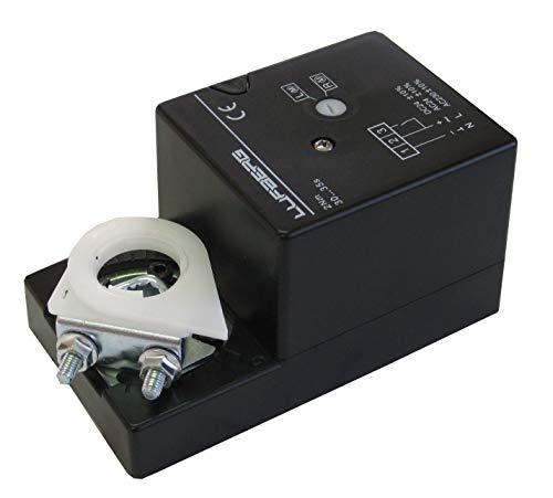 Lufberg Klappenantrieb DA02N220 Stellmotor 230V 15-25S 2Nm Auf/Zu VentilationNord