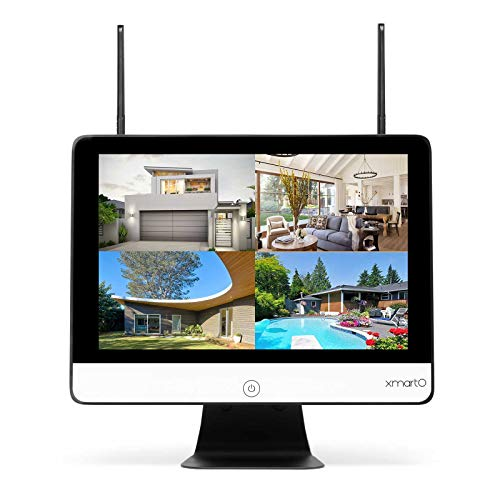 xmartO WNS28 8CH WiFi Security NVR/DVR with 1080p HD Screen Display (8CH 1080p, Easy Remote View, Supports SATA HDD)