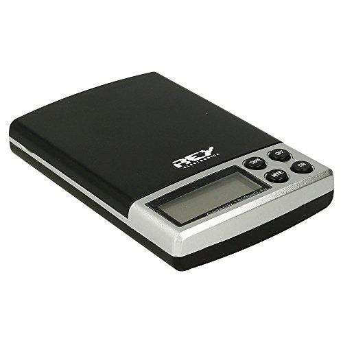 Báscula Digital de Precisión, Rango de Pesaje de 0,1g a 1000g, Balanza Portátil, Peso Joyero, Electrónica Rey®