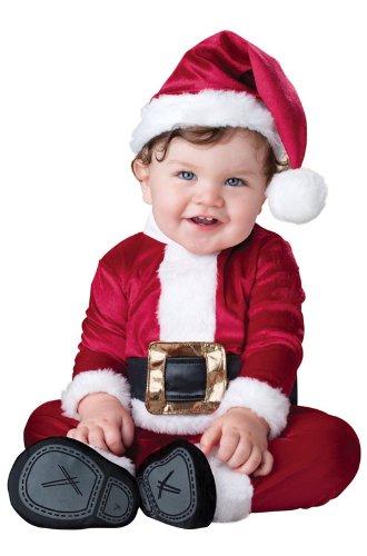 En Costumes de caract-re 212192 Santa Baby Infant - Costume enfant - Rouge - Taille 6-12 mois