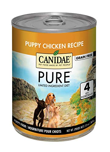 Canidae PURE Grain Free Wet Puppy Food with Chicken, 13oz (12-pack)