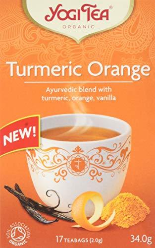Yogi Tea Turmeric Orange 17 Tea Bags, 34 g