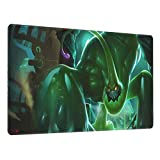 Zac LOL League of Legends Gaming Mouse Pad, Large Mouse Pad 15.8 X 29.5-Inch,Computer Keyboard Pad, with Polyester Material and Non-Slip Rubber Base Design