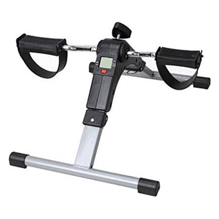 falcon フィットネスバイク 折りたたみ コンパクト デジタルメーター付 ペダル ローラー エクササイザー
