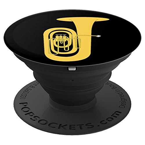 Tuba Player PopSockets Grip and Stand for Phones and Tablets