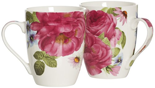 Ritzenhoff & Breker Kaffeebecher-Set Rosa, 2-teilig, 312 ml