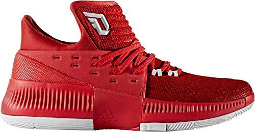 adidas Dame 3 White/White/Gum Basketball Shoes (BW0323)