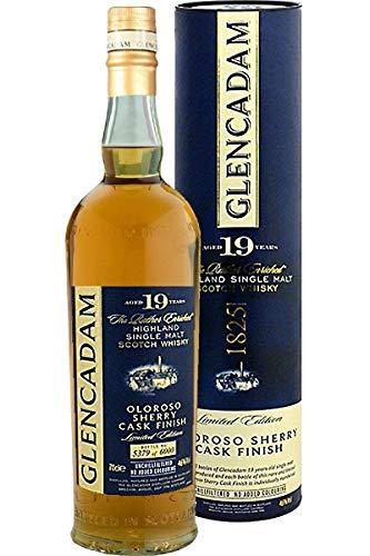 Glencadam 19 Years Old Oloroso Sherry Finish Whisky mit Geschenkverpackung (1 x 0.7 l)