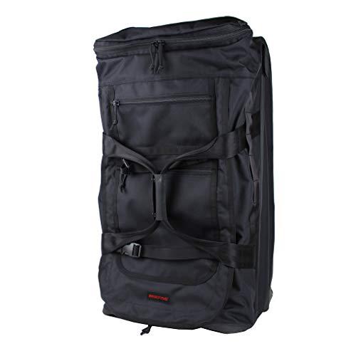 [ブリーフィング] 【公式正規品】 スーツケース ソフトキャリー ソフトケース 80L 70 cm 1週間 JET TRIP D-1 4.25kg BLACK