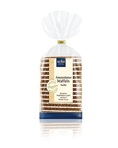 Arko Amsterdamer Waffeln Vanille, 200 G