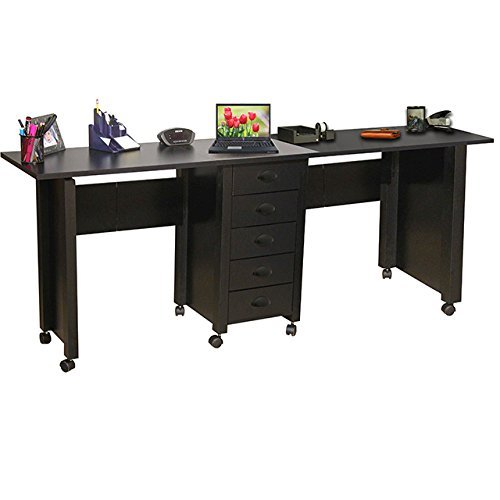 Venture Horizon Double Mobile Desk and Craft...