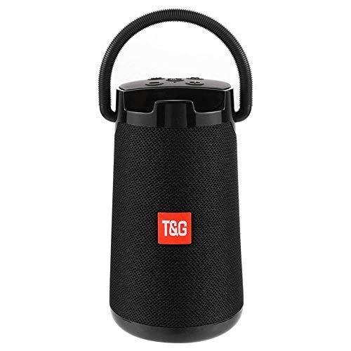 Draagbare Bluetooth-étanche haut-parleur Subwoofer zonder Mini Soundbar Subwoofer-Zwart