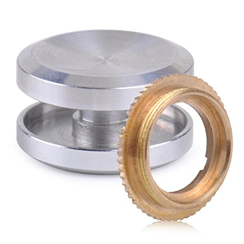 Eastar Aluminium R188 Lager Daumenknopf Set Kappe für EDC Finger Hand Spinner Fidget Toy Aluminium Kappe & Messing Lager Festring