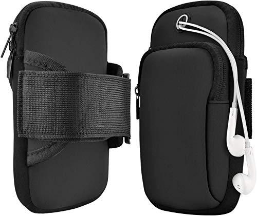 Armtasche,Armband Handy,Jogging, Arm JoggingTasche, Sportarmband kompatibel Armband Telefon Handyhalter Case für Laufen, Workout, Joggen und Fitness