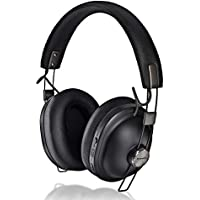 Panasonic Retro Noise Canceling Bluetooth Wireless Headphone (RP-HTX90N0) (Matte Black)