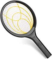mafiti Electric Fly Swatter, Fly Killer Bug Zapper Racket for Indoor and Outdoor Pest Control, 2AA Batteries not Included...