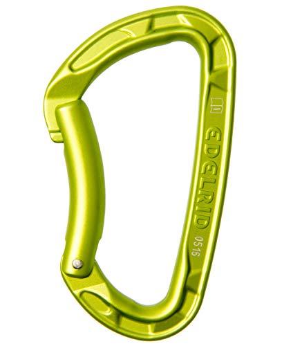 Edelrid Unisex– Erwachsene Karabiner Pure Bent, Oasis, einheitlich