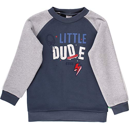 Fred's World by Green Cotton Skate Sweat Shirt Sudadera, Multicolor (Midnight 019411006), 92 para Bebés