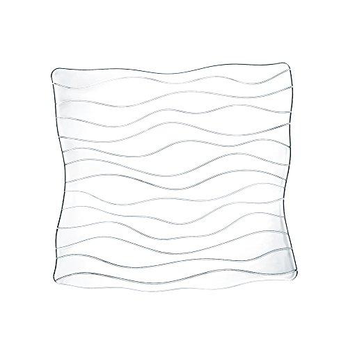 Spiegelau & Nachtmann, Teller quadratisch, Kristallglas, Ocean, Größe: 30 cm, 0083727-0