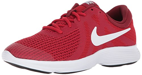 Nike Revolution 4, Zapatillas de Running para Niñas, Rojo (Gym Red/White/Team Red/Black 601), 37.5 EU