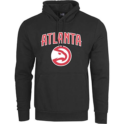 New Era Sweat à Capuche - NBA Atlanta Hawks Black