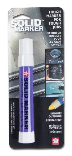 SAKURA - 46580 Sakura Solidified Paint Solid Marker, 14 to 392 Degrees F, White