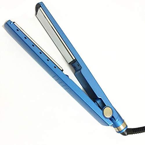 LIZHOUMIL Plancha de pelo profesional con indicador LED, enchufe de EE. UU.