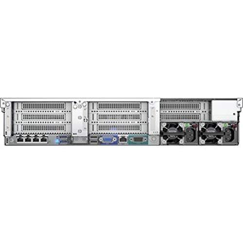 HP ProLiant DL560 G10 2U Rack Server - 2 X Intel Xeon Gold 6130 Hexadeca-core (16 Core) 2.10 GHz - 64 GB Installed DDR4 SDRAM - 12GB/s SAS Controller - 2 X 1600 W