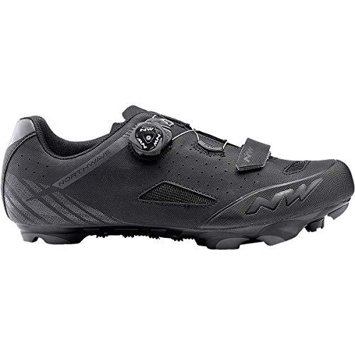 Northwave Origin Plus - Zapatillas de Ciclismo para Hombre, 44, Negro