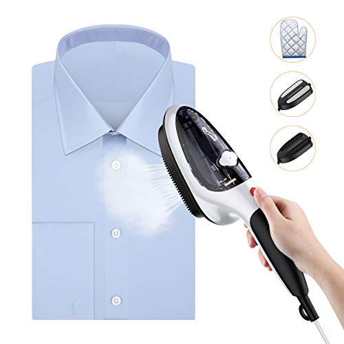 Why Should You Buy Housmile Steamer for Clothes, Portable Garment Steamer and Steam Iron, Handheld Steamer with Two Brushes, 30s Fast Heated up, Home and Travel