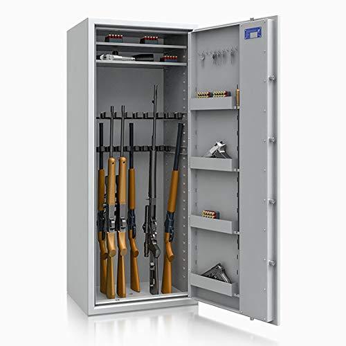 Waffenschrank Waffentresor 18 Waffenhalter EN 1143-1 Klasse 0 Grad 0 Elektronikschloss Zahlenschloss